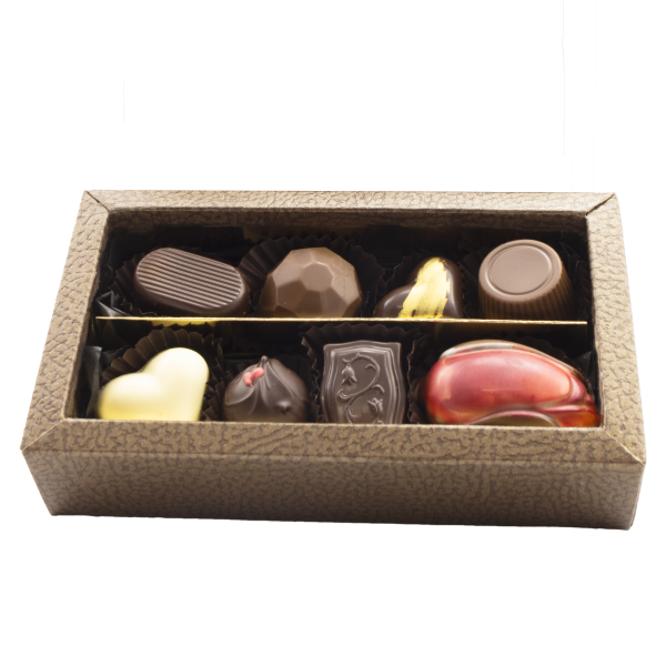 Classic gift box with 8 chocolates inside