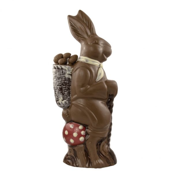 large chocolate easter bunny