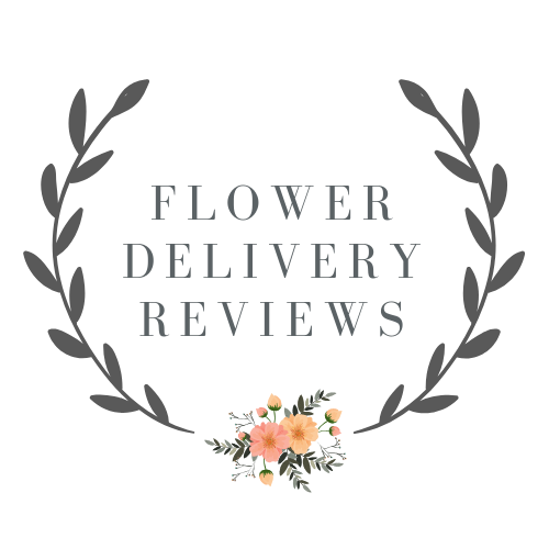 flower delivery review badge