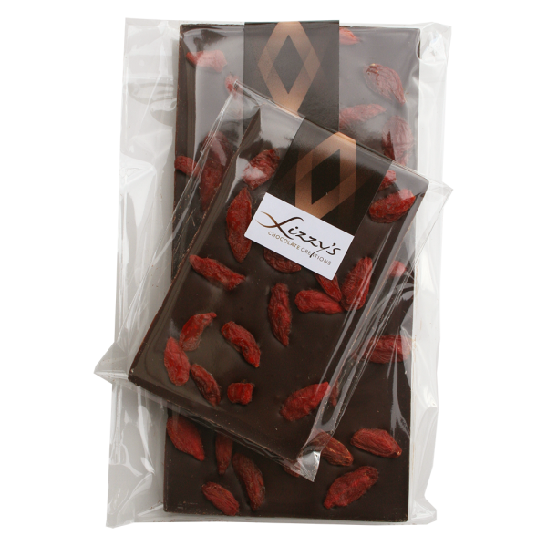 Goji berry chocolate bar dark chocolate